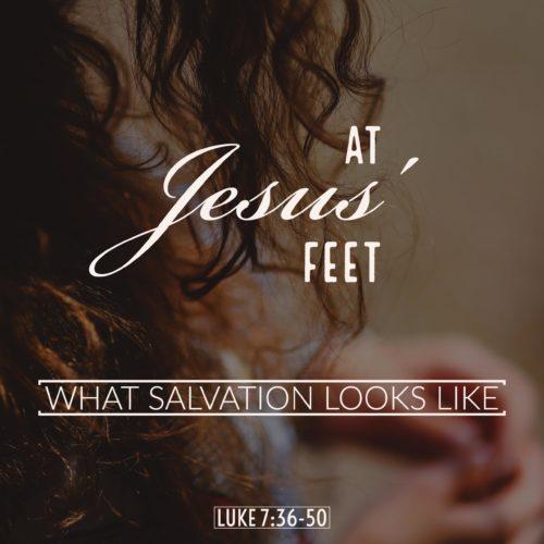 At Jesus' Feet Sermon Audio