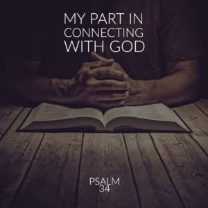 My part in connecting with God