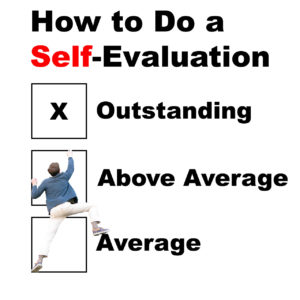 How to Do a Self-Evaluation
